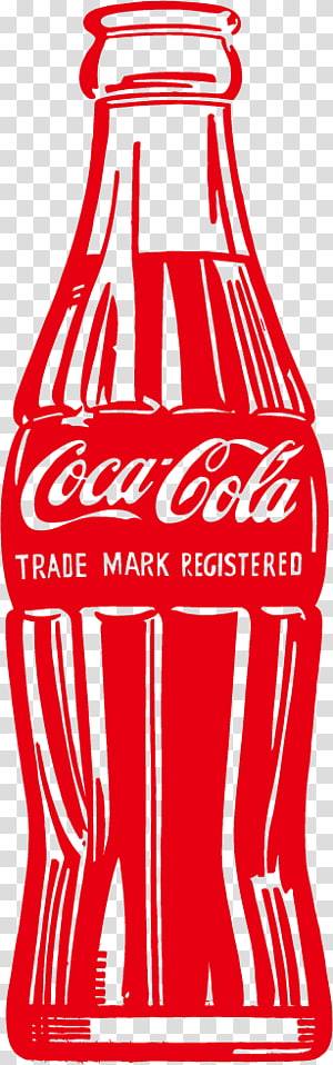 botol soda Coca-Cola merah, Botol Coca-Cola Hijau, Kaleng Sup Campbell Minuman ringan, Coke PNG clipart