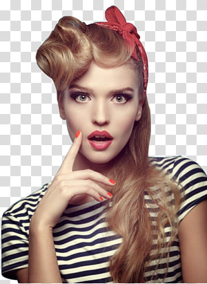ilustrasi potret wanita, Wanita Model, Wanita cantik di Eropa dan Amerika PNG clipart