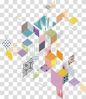 Geometri, Diagram geometri, ilustrasi beraneka warna PNG clipart