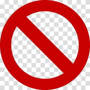 Tidak ada simbol, File Terlarang Gratis, signage merah bundar PNG clipart