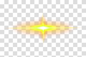 sinar kuning cahaya, Cahaya Kuning, elemen efek cahaya Kuning png