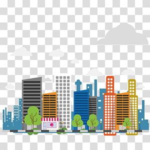 ilustrasi bangunan tinggi, Informasi Vinnytsia Stryzhavka, kota Kartun PNG clipart