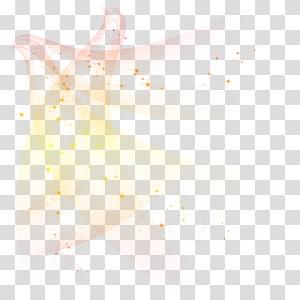 Kemanjuran Cahaya Bercahaya model warna RGB Fluks bercahaya, Efek cahaya dinamis bintang warna-warni, oranye dan merah berkilau png