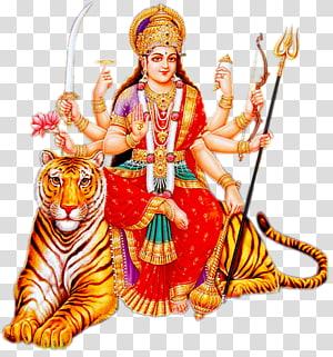 Ilustrasi Dewa Hindi, Shiva Durga Puja Sita, Dewi Durga Maa png