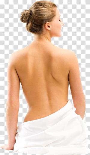 Wanita menunjukkan kembali, terapi fisik memijat punggung wanita, otot wanita PNG clipart