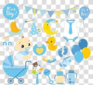 ilustrasi item bayi, Baby Baby shower, Latar belakang bayi png