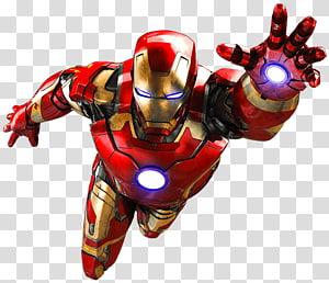Marvel Iron-Man, Iron Man Hulk Spider-Man Ultron, ironman png