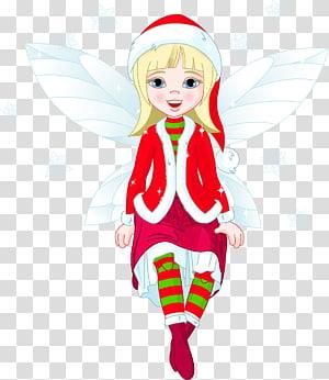 ilustrasi peri salju, Rudolph Santa Claus Christmas elf, Christmas Elf png