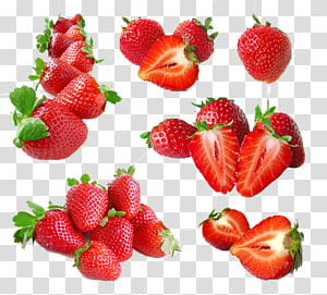 tumpukan stroberi, Es Krim Juice Frutti di bosco Strawberry Fruit, Strawberry PNG clipart
