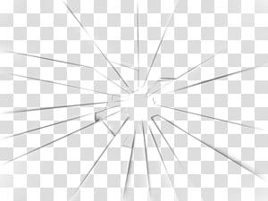 Pola Garis Sudut Struktur Simetri, Kaca Pecah, cermin hitam dan putih yang pecah png