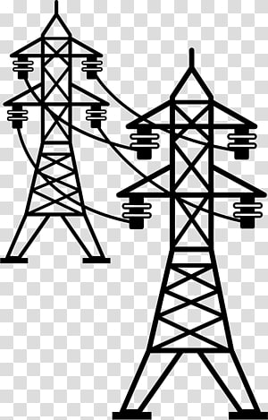 menara transmisi tenaga listrik transmisi saluran listrik overhead listrik, tegangan tinggi png