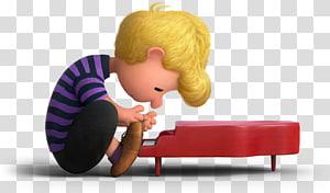 Karakter film Peanuts, Schroeder Linus van Pelt, Charlie Brown Patty Snoopy, kacang tanah png