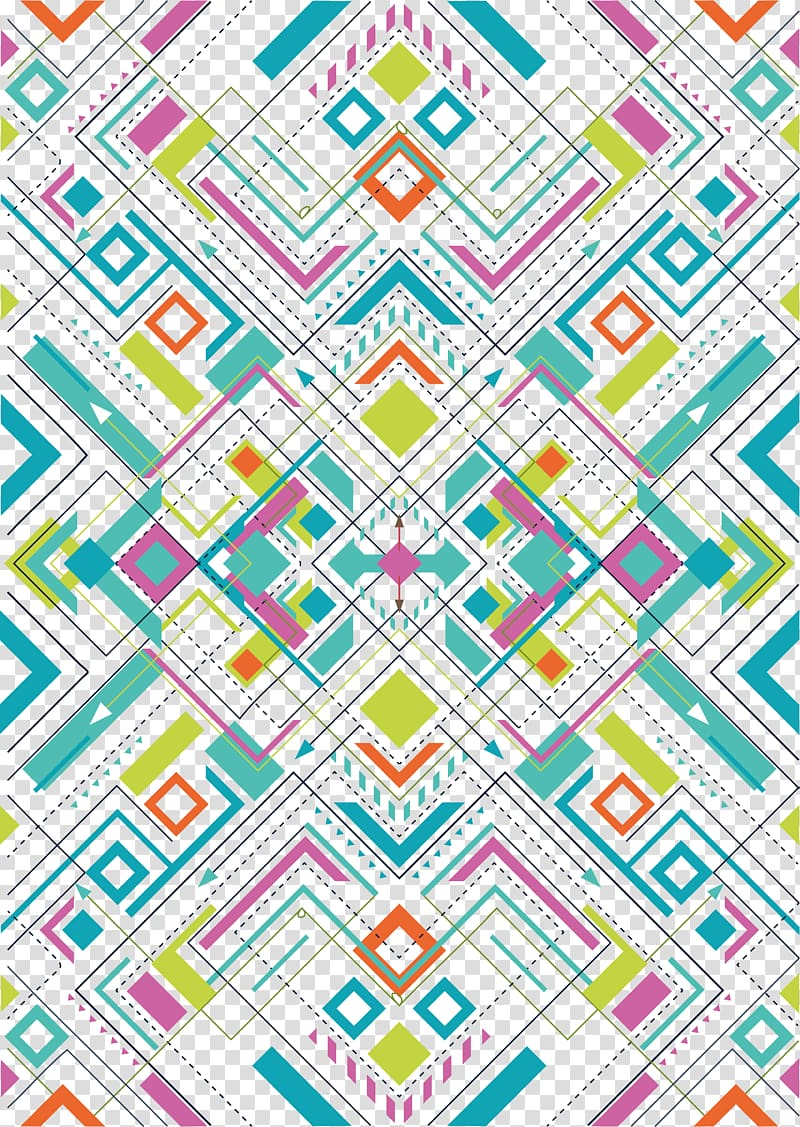 pola aztec, desain grafis Pola Bentuk Geometri, Pola bentuk geometris PNG clipart