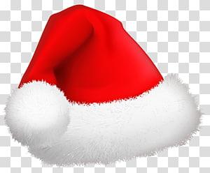 Topi Santa merah, Santa Claus Natal, Santa Hat Natal png