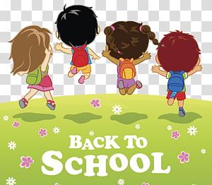 Ilustrasi Kembali ke Sekolah, Siswa Ilustrasi sekolah pertama, Sekolah kembali ke sekolah png