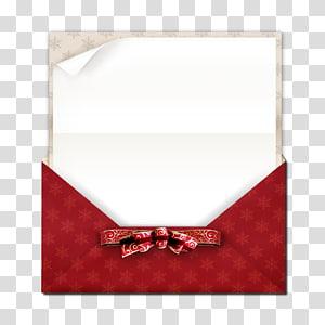 ilustrasi amplop merah dan putih, Kertas Amplop Pita Natal, kartu Natal png