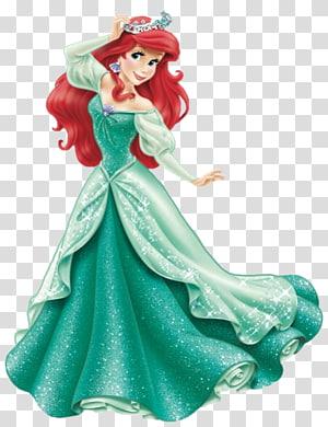 Ariel dari Little Mermaid, Ariel Belle Putri Pangeran Aurora Ursula, Putri Disney png