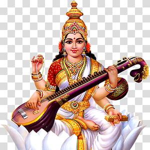 Ilustrasi Saraswati, Shiva Krishna Saraswati Durga Basant Panchami, hindu png