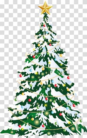 Seni Pohon Natal Deco Besar, pohon Natal hijau PNG clipart