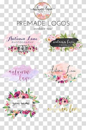 Kertas Logo Lukisan Cat Air Merek Kuku, Pernikahan, berbagai macam warna kolase logo premade png