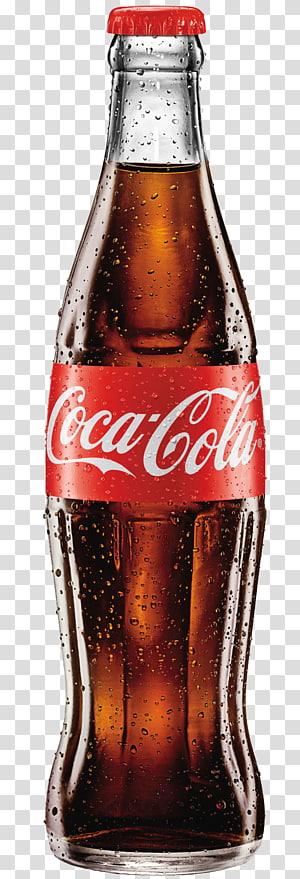 Kafein Bebas Coca-Cola Minuman ringan, Coca Cola, botol Coca-Cola PNG clipart