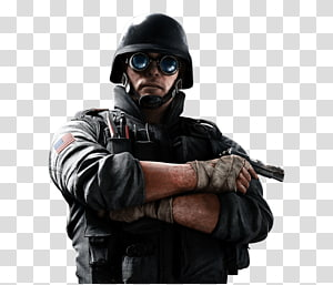 pria berseragam memegang senjata hitam, Tom Clancys Rainbow Six Siege Tom Clancys The Counter-Strike Division: Global Offensive Video game, Tom Clancys Rainbow Six File PNG clipart