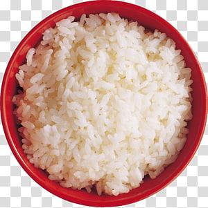 nasi dimasak dalam mangkuk merah, nasi File komputer, nasi png