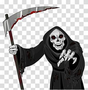 ilustrasi reaper, Death, Scary Grim Reaper png
