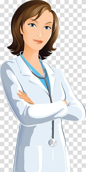 Wanita mengenakan kain putih, Dokter Keluarga, Perawatan Lulur, Dokter Wanita png