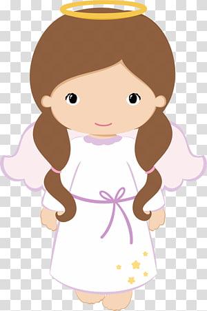 malaikat perempuan berambut coklat, Konfirmasi Malaikat Baptis Komuni Pertama Anak, malaikat bayi png