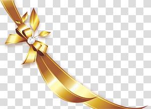 ilustrasi pita emas, Pita, Pita emas png