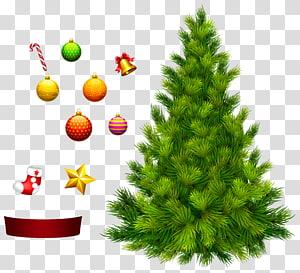 Pohon Natal untuk Dekorasi, ilustrasi pohon Natal png