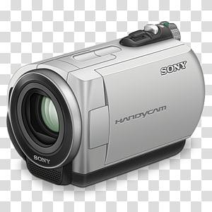 Sony Handycam abu-abu dan hitam, perangkat keluaran multimedia kamera & optik kamera digital, Sony handycam png