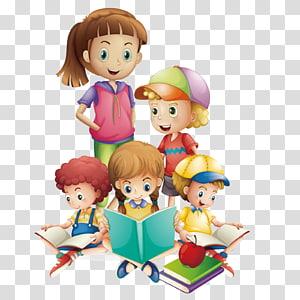 ilustrasi buku bacaan anak-anak, Ilustrasi Bacaan Anak, sepulang sekolah png