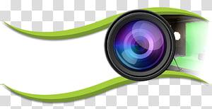 lensa kamera bulat, Kamera Video Lensa kamera, Logo Kamera png