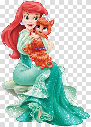Ilustrasi Ariel, Ariel Putri Aurora Cinderella Rapunzel Putri Jasmine, Ariel png