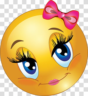 ilustrasi emoji yang indah, Smiley Emoticon Blushing Face, Lovely s png