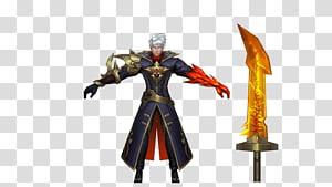 Mobile Legends Alucard ilustrasi, Mobile Legends: Bang Bang Alucard Seluler Game Aksi & Toy Angka, legenda ponsel png