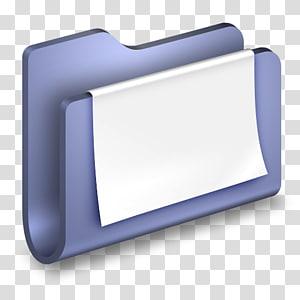 ilustrasi penyelenggara biru, persegi panjang, Dokumen Folder Biru png