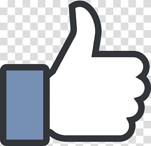 Facebook menyukai ilustrasi, Media sosial Facebook City Tombol Suka sinyal Jempol, Seperti Baru png