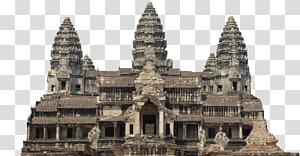 struktur abu-abu, Kuil Angkor Wat Bayon Khmer, abad pertengahan png