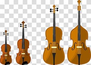 Alat musik gesek Cello, biola dan cello png