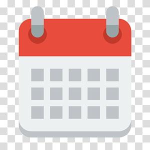 ilustrasi merah dan putih persegi, tanggal Kalender Waktu Ikon Komputer, ikon kalender PNG clipart