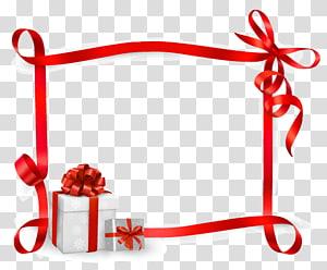 kotak hadiah putih dan merah, kartu Ucapan Pita kartu Hadiah, Pita Hadiah png