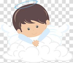 ilustrasi angel on cloud, Baptisan Malaikat Komuni Pertama Anak, malaikat bayi png