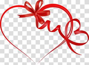 Ribbon Hari Kasih Sayang Jantung, Pita Hati s, pita hati pita merah png
