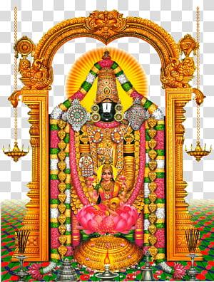 Poster dewa Hindu, Kuil Tirumala Venkateswara Dewa Ganesha, Venkateswara png