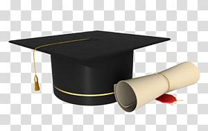 mortarboard dan seni diploma, Topi akademik Wisuda persegi Cap, Wisuda Cap png