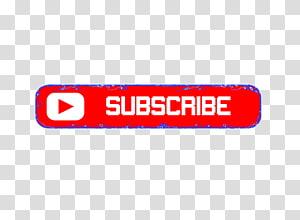 Logo YouTube Blog, Berlangganan png