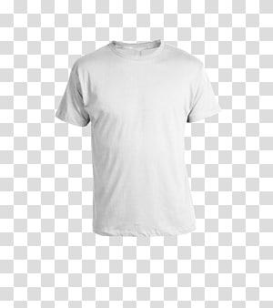 Kaos leher-leher putih, T-shirt Kaos Sweater Pakaian, Templat T Shirt png